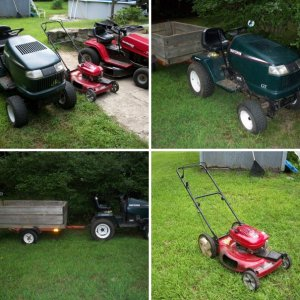New Toro, trailer setup and all my toys